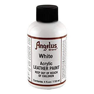 Angelus Leather Paint 4 Oz White