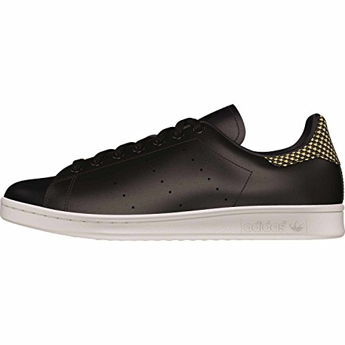 adidas Herren Stan Smith Sneakers Schwarz (Cblack/Cblack/Ftwwht)