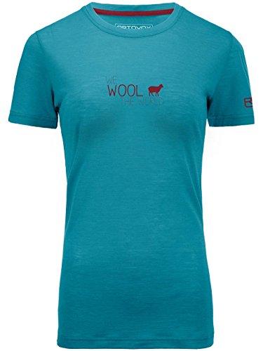 Ortovox Merino Cool World T-Shirt Women Aqua