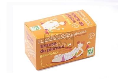 Infusettes - Tisane de plantes - Gaïa Détox - boîte 30g