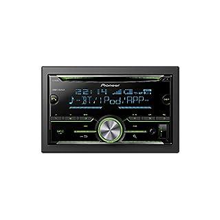 Auto Radio CD Receiver Pioneer mit USB CD AUX Bluetooth für VW Golf 5 6 2003-2013 incl Einbauset schwarz