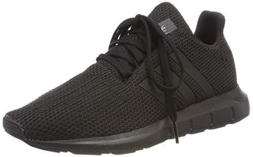 adidas Unisex-Kinder Swift Run-j Gymnastikschuhe, Schwarz (Core Black/Core Black/Core Black Core Black/Core Black/Core Black), 38 2/3 EU (5.5 UK)