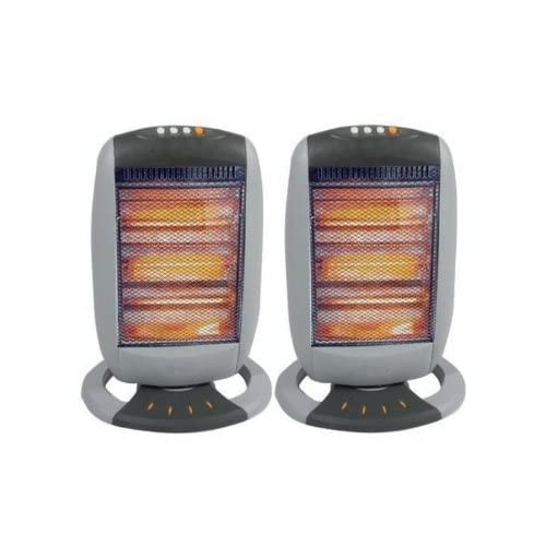 41B2uhWZ3nL. SS500  - TOOL-GENIUS® 2 X HALOGEN HEATER 400W/800W/1200W THREE POWER SETTINGS