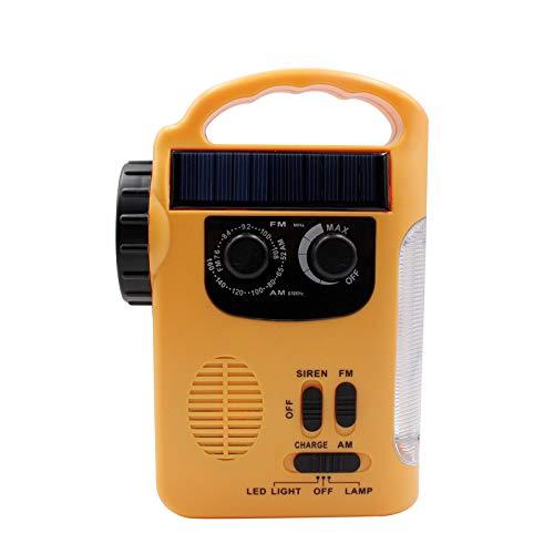 Solar-Handshake-Radio Multifunktionales Led-Beleuchtungshandy Zum Aufladen Von Am/Fm-Radio