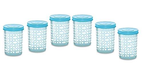 Milton Storex Container Dotted Design 6 Pc Set