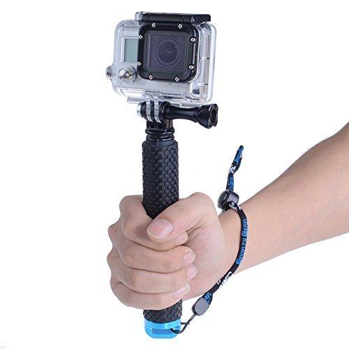 Neewer POV einstellbarer Selfie-Stick für Gopro HD Hero1/2/3/3+/4 Kamera mit Tragschlaufe (19 Zoll (49 cm)) grün (Gopro Hero1)