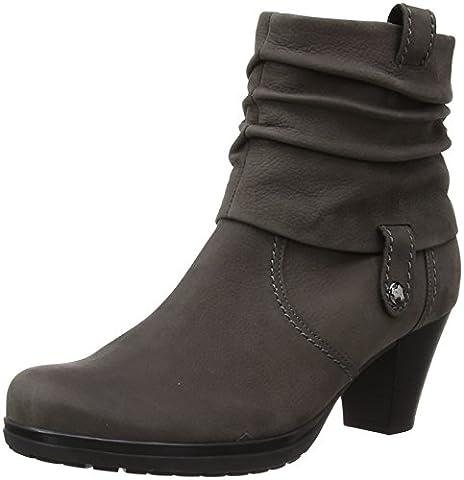 Gabor Shoes 36.083 Damen Kurzschaft Stiefel, Grau (anthrazit (Micro) 30), 39 EU