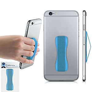 Blue Case Compatible Anti-Static Finger Elastic Grip Holder with Strong Adhesive For Samsung Galaxy A5 (2016) SM-A510F