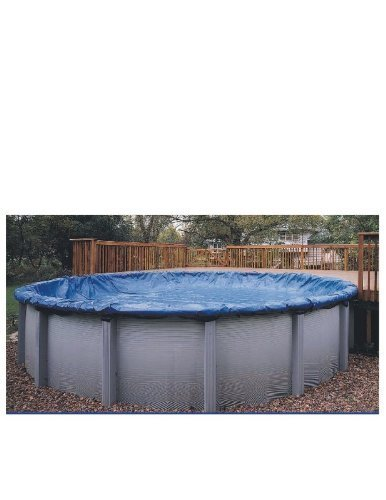 12' x 24' Oval Winter Above Ground Swimming Pool Cover 15 Year Limited Warranty by Arctic Armor (24' Oval Above Ground Pools)