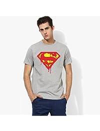 T-Shirt Swag Superman Comic Hero Marvels Superhero Logo Printed Round Neck 100% Cotton Graphic Half Sleeve Tshirt...