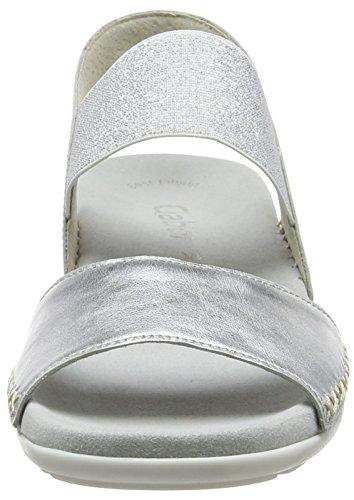 Gabor Fashion, Sandales  Femme Argent (silber 61)