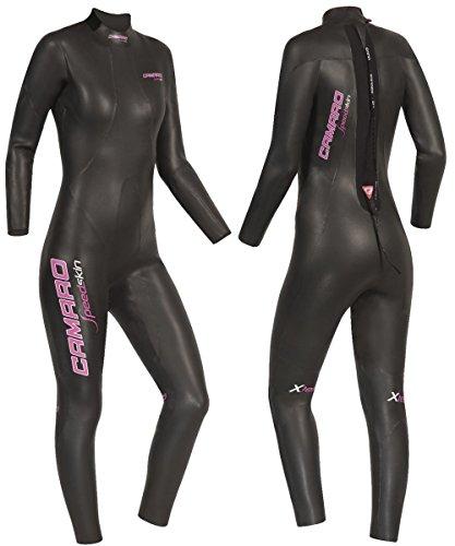 Camaro Damen Speedskin Overall Triathlon Neoprenanzug L Schwarz