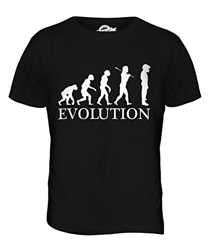 CandyMix Rennfahrer Evolution Des Menschen Herren T Shirt Schwarz