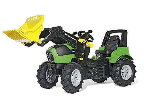 *rolly toys 710133  Agrotron mit Luftbereifung und Loader*