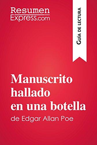 Manuscrito hallado en una botella de Edgar Allan Poe (Guía de lectura): Resumen y análisis completo por ResumenExpress.com