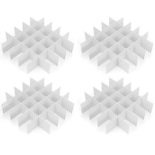 CROING - 32 pcs Blanco -Organizador de Cajones, Cajones Separadores