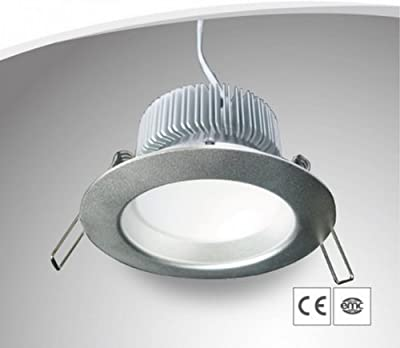 230V LED SMD Einbaustrahler/Spot 6x2W - Dimmbar - warmweiß - 560 Lumen - Gehäuse silber von IMIGY LIGHTING CO., LTD.