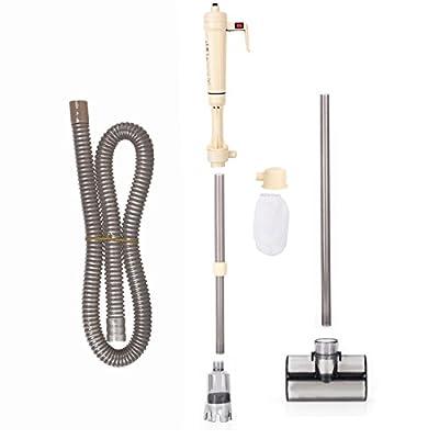 Electric Siphon Vacuum Gravel Cleaner Water Filter Siphon Vacuum Water Pump for Aquarium Fish Tank, Not Including Batteries
