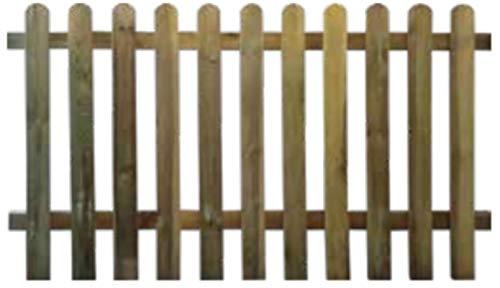 Staccionata steccato bordure recinzione cm 100x180 Tavoletta legno impregnato