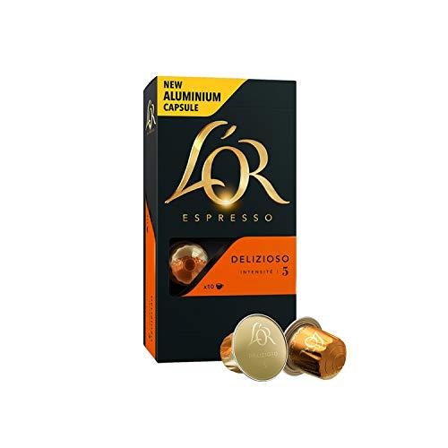 L'OR Espresso Café Paquete de variedades - Nespresso® * Cápsulas de café de aluminio compatibles - 8 paque