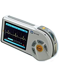 ChoiceMed MD100E Couleur Portable Handheld ECG ECG cardiofréquencemètre Deluxe Set