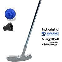 Minigolfset SINGLE - 3-teilig (mit original SHORE Minigolfball-Anlagenball) und Minigolf-Pick-Up