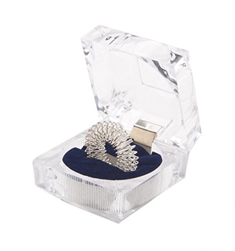 Anello da massaggi in Cofanetto (Massaggio al dito) argento