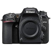 Nikon D7500 Gehäuse Digitalkamera, 20,9MP DX-CMOS-Filter ohne Optischen Tiefpassfilter schwarz (Generalüberholt)