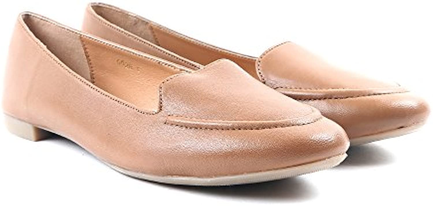 Mocasín De Cuero De Calixto Carlton London - Tan UK 7