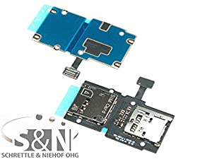 NG-Mobile Samsung Galaxy Ativ S GT-i8750 Sim Slot Kartenleser Kontakte Simleser Schacht Kartenleser Einschub Flex miroSd Leser