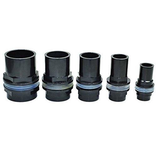 Homyl Aquatic Fish Tank Water Pipe Tube Valves Joint Connector Kit 20/25/32/40/50mm – 40mm Dia