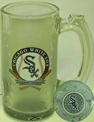 Chicago White Sox 13 Oz. Glass Sports Mug