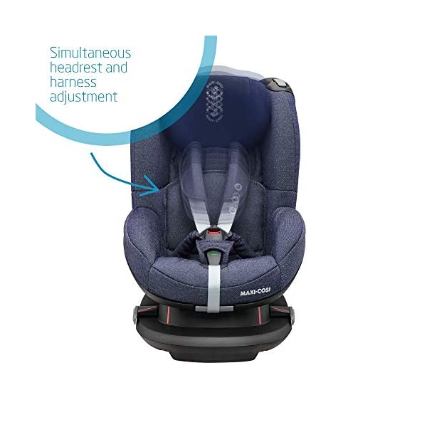 Maxi-Cosi Tobi Toddler Car Seat Group 1, Forward-Facing Reclining Car Seat, 9 Months-4 Years, 9-18 kg, Sparkling Blue Maxi-Cosi Forward facing group 1 car seat suitable for children from 9 to 18 kg (approx. 9 months to 4 years) Install with a 3-point car seat belt, with clear and intuitive seat belt routing High seating position allows toddler to watch outside the window 3