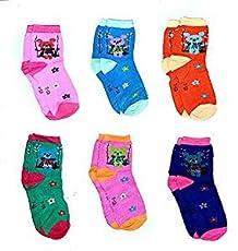 ZZ ZONEX Unisex Cotton Socks (Multicolour, 6-8 Months) -Pack of 6