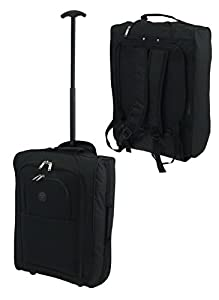Airline Approved Lightweight Wheeled Backpack Cabin Bag Hand Luggage