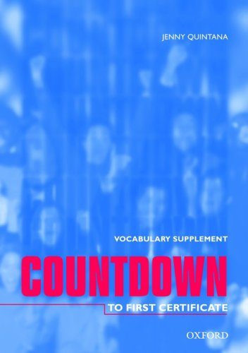 Countdown to First Certificate Vocab Suppl