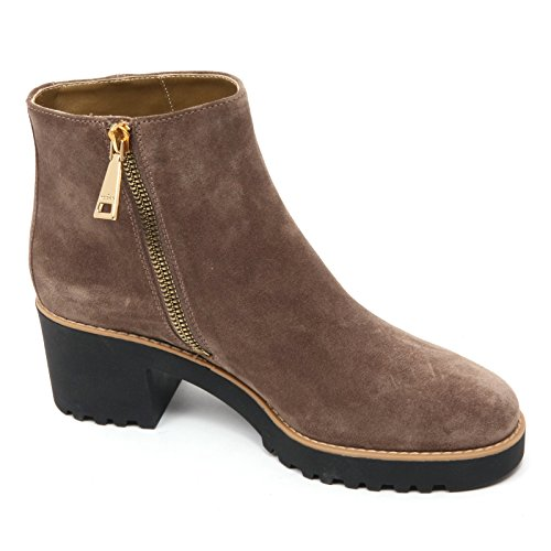 B7426 tronchetto donna TOD'S ROUTE 277 stivaletto marrone chiaro shoe boot woman Marrone chiaro