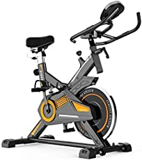 National Bodyline Spin Bike NB-S5 Exercise Fitness Spin Bike; Exercise Cycle for Home Gym; 13kg Flywheel; Indoor Cycle; Trainer Fitness; Spin Bike (Imported)