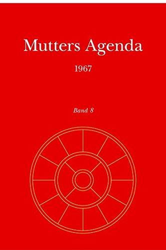 Agenda der Supramentalen Aktion auf der Erde: Mutters Agenda 1967