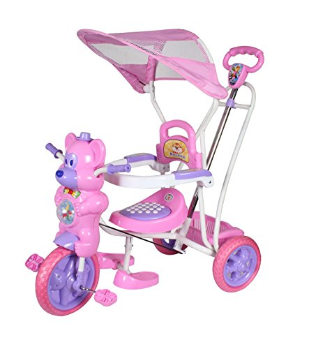 HLX-NMC KIDS FUN MOUSE TRICYCLE CUM ROCKER PINK/PURPLE  available at amazon for Rs.2299