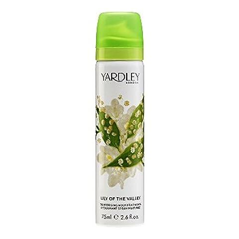 Yardley London Lily of the Valley Deodorising Body Fragrance