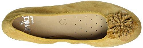 Caprice 22153, Ballerine Donna Giallo (Saffron Comb)
