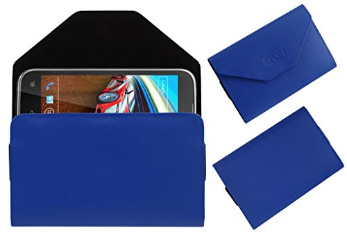 Acm Premium Pouch Case For Lava Xolo Play T1000 Flip Flap Cover Holder Blue  available at amazon for Rs.179