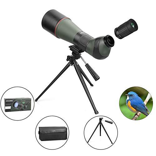 Telescopio Impermeable HD 20-60-80 mm Trípode, Totalmente