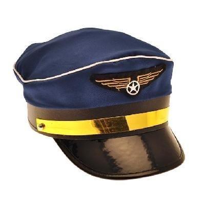 u) für Kostüm (Blue Aviator Hut)