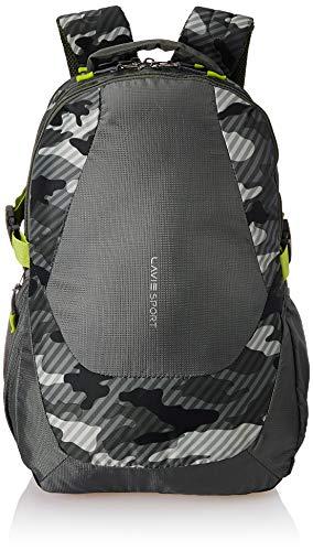 Lavie Taipei 34 Ltrs Green School Backpack (BAEI137092N3)
