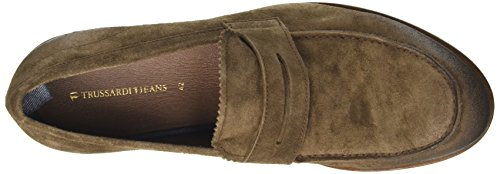 TRUSSARDI JEANS by Trussardi 77s55253, Mocassins (loafers) homme Marron