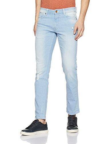 United Colors of Benetton Men's Skinny Fit Jeans (203763113_Blue_36W x 32L)