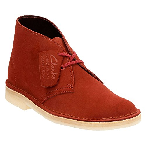 Clarks Desert Boot Lace-up Boot Terracotta Suede