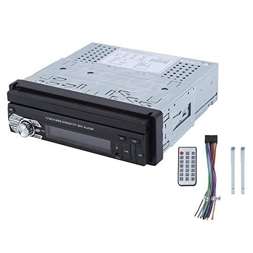 Sen-Sen Stereo-Musik-Player Touch Car MP5-Player 7-Zoll-Flip-Up-FM-Radio schwarz und grau (Flip-autoradio)